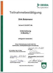 Unterweisung-E-Mobility 1 - Direk Butzmann- Die Fahrzeug-Ambulanz - Beulendoktor Kassel